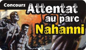 Concours Attentat au parc Nahanni