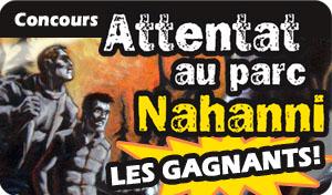 Concours Nahanni : les gagnants